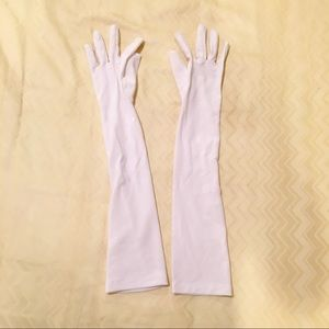 Other - LONG WHITE COSTUME GLOVES